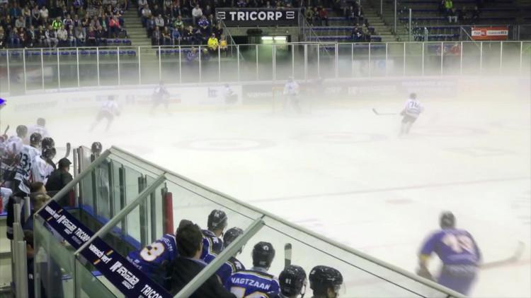 Mist op het ijs: wedstrijd Tilburg Trappers wordt afgelast