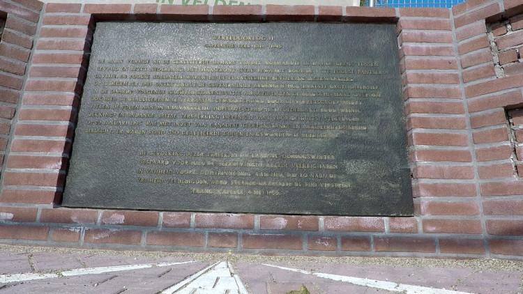 Oorlogsmonument van veldslag Kapelsche Veer is hufterproof herbouwd