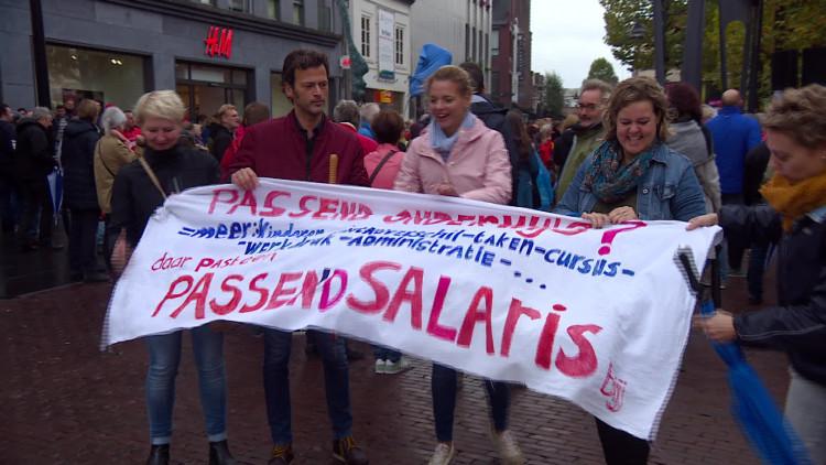 Leraren staken: ook manifestaties in Helmond en Den Bosch