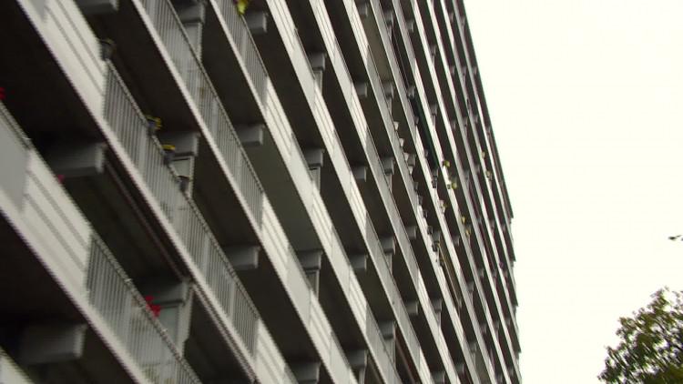 Balkons Tilburgse Mozartflat mogelijk gevaarlijk