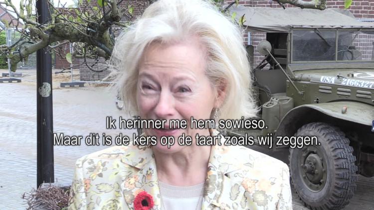 Herdenking slachtoffers vligetuigcrashes WOII bij Boxmeer