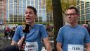 Eindhovense broers Sengers lopen samen marathon