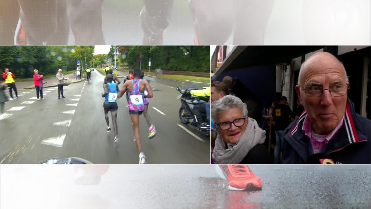 Ook hele kleintjes in actie tijdens Marathon Eindhoven