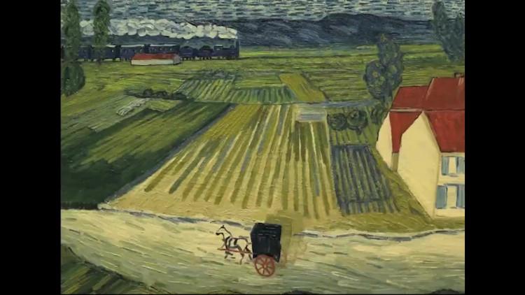 Het Noordbrabants Museum heeft een bijzondere expositie over de film Loving Vincent