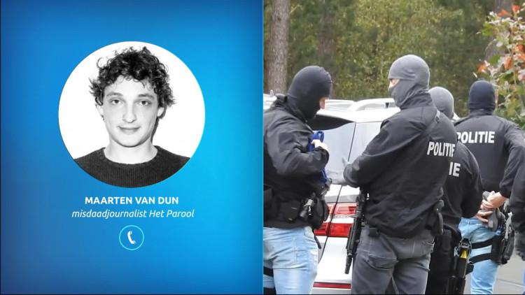 Misdaadverslaggever Maarten van Dun van Het Parool over Benaouf A. die betrokken was bij liquidaties