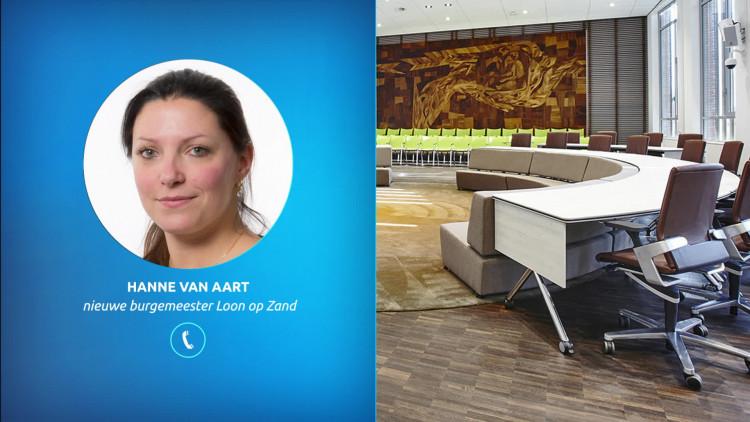 Hanne van Aart wordt de nieuwe burgemeester van Loon op Zand