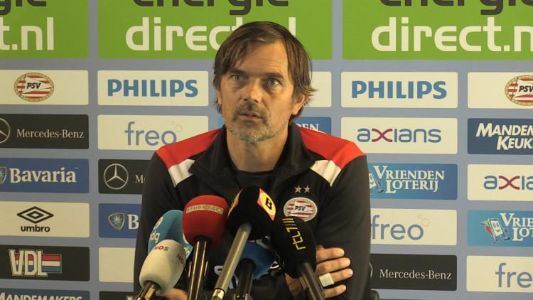 Phillip Cocu blikt vooruit op VVV Venlo-PSV