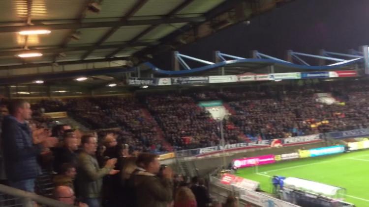 Willem II-fans steken zieke Fran Sol hart onder de riem