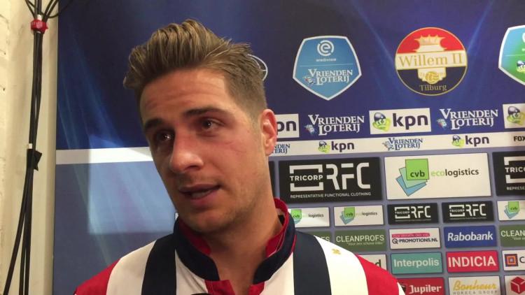 Jordens Peters is onder de indruk van actie Willem II-fans