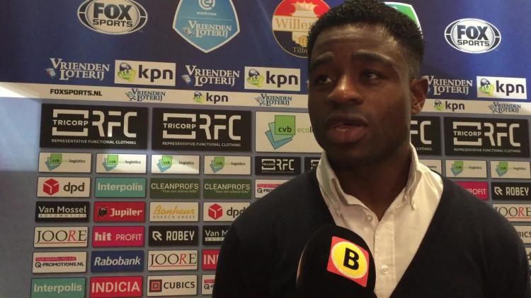 Na maanden van blessureleed is Bartholomew Ogbeche weer terug bij Willem II