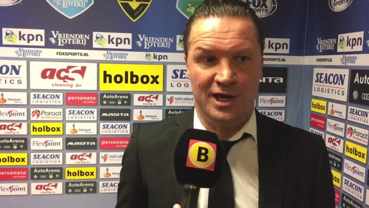 Volgens NAC-coach Stijn Vreven had zijn ploeg moeten winnen van VVV Venlo.