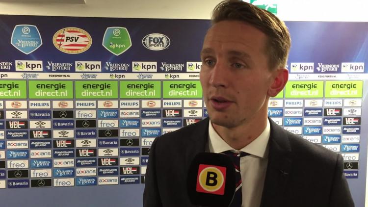 Luuk de Jong na PSV-FC Twente.