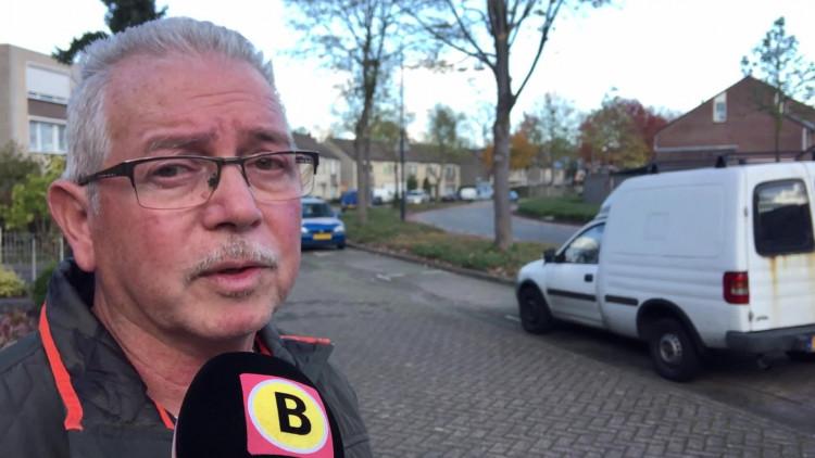 Fred Asmussen zijn  auto is zaterdag voor de vijfde keer geramd