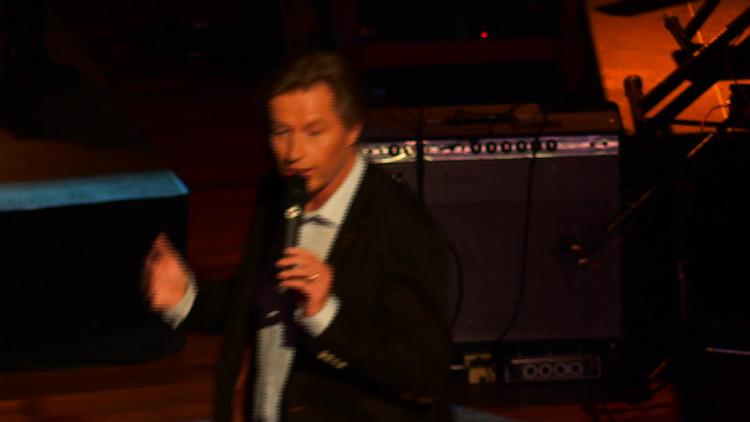 Peter Koelewijn blikt tijdens gala-avond in Parktheater in Eindhoven terug op carrière