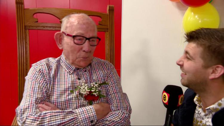 89 jaar en nog steeds conciërge op een basisschool