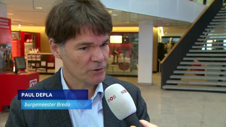 Burgemeester Depla van Breda praat met 25 burgemeesters over experiment wietregulering