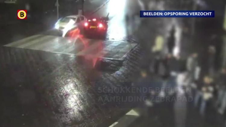 Aanrijding zebrapad in Breda (Let op, schokkende beelden)