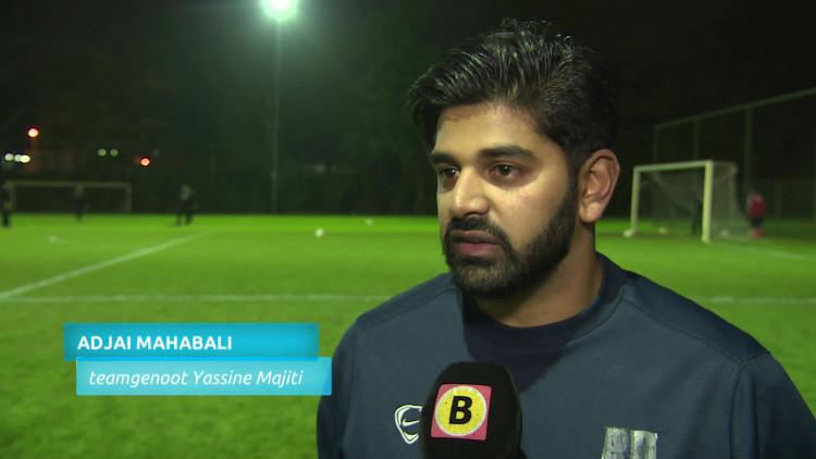 Eerste training zonder Yassine Majiti voor teamgenoten van voetbalclub CHC