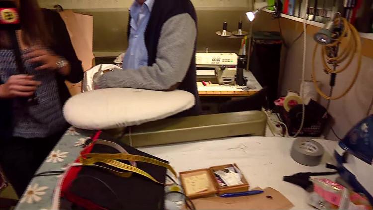Peter Dau is 79 en werkt dertig uur per week aan zijn modecollectie