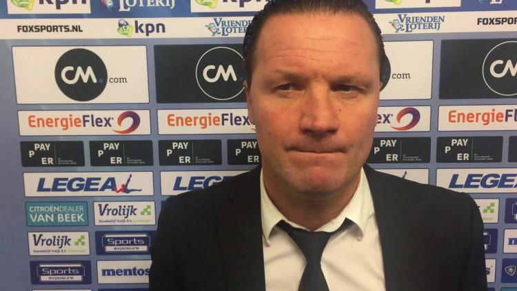 NAC-coach Vreven rept over zwarte zaterdag voor NAC na 0-8 verlies van Ajax.