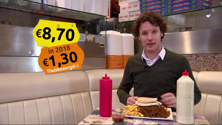 Bestellingen via thuisbezorgd.nl kosten de ondernemers te veel geld.