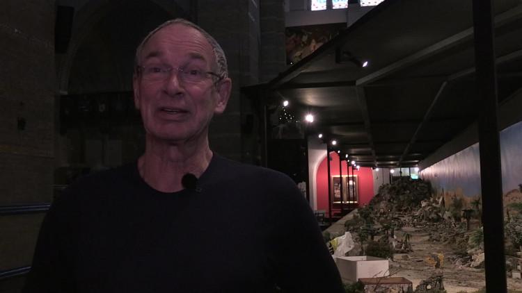 Twee Friezen bouwen Europa's grootste kerststal op in Den Bosch