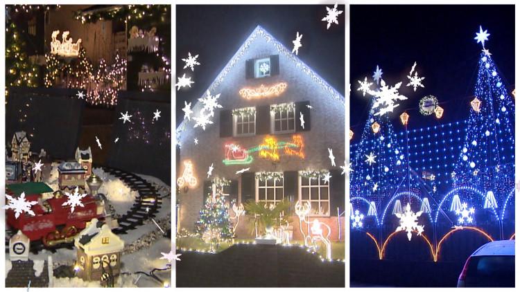 Waar staat het mooiste kersthuis van Brabant?