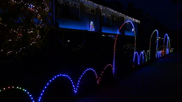 Vier tuinen vormen kerstlichtshow in Eindhoven