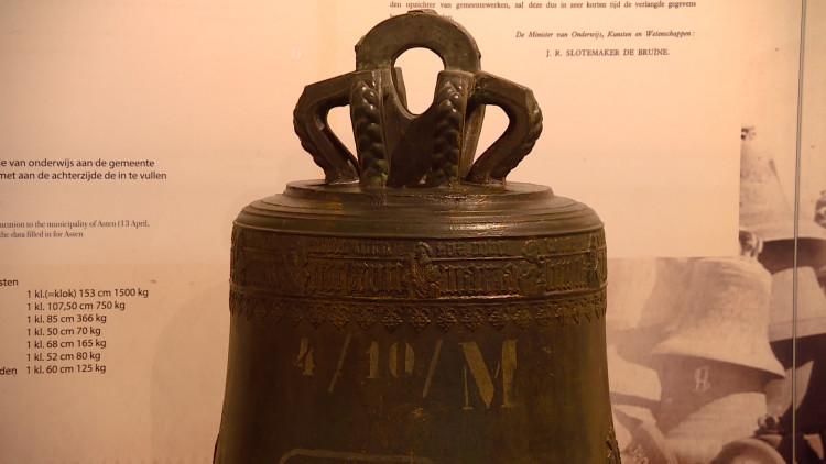Tentoonstelling over klokkenroof door Nazi's in Klok en Peelmuseum Asten