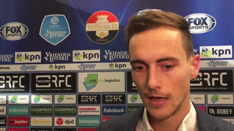 Freek Heerkens na 1-1 tussen Willem II en NAC: 'Zullen er mee moeten leven'