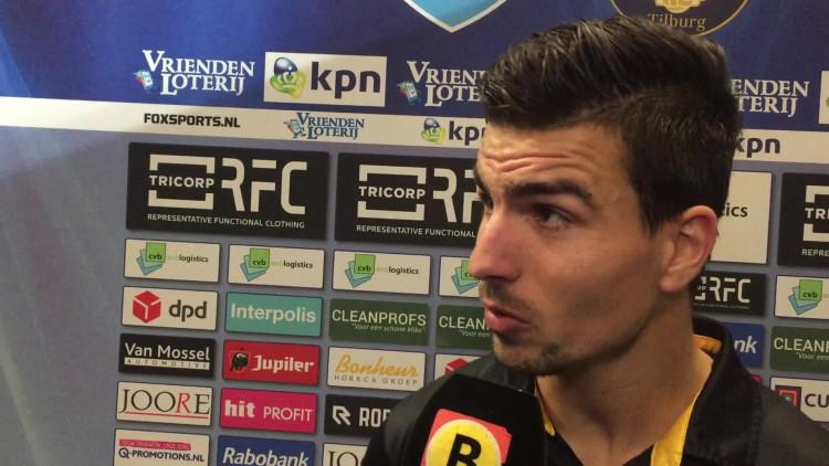 Gianluca Nijholt nog net niet fluitend naar huis: 'Dan had NAC drie punten moeten hebben'