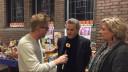 Verslaggever Floyd Aanen bij het Odulphuslyceum