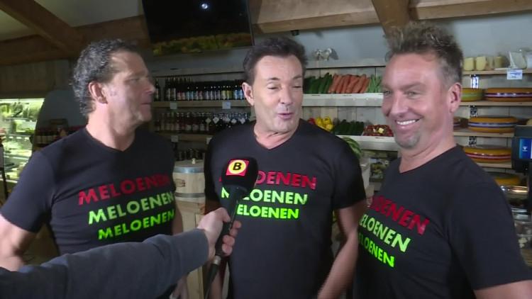 Gebroeders Ko nemen carnavalsclip op met Gerard Joling