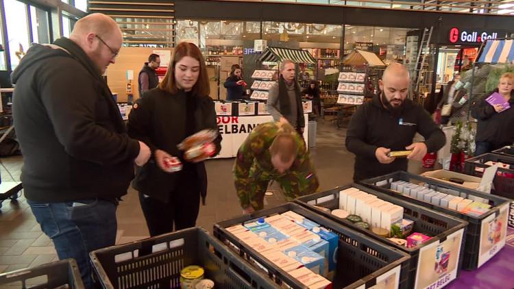 We haalden duizenden producten voor de voedselbanken op. Brabant, bedankt!