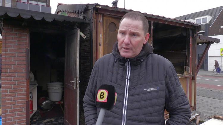 Oliebollenkraam uitgebrand in Eindhoven