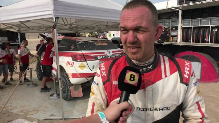 Zware crash voor Anton van Limpt in etappe 2 van Dakar Rally