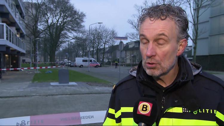 Politiewoordvoerder Eric Passchier legt uit hoe de verdachten in beeld kwamen