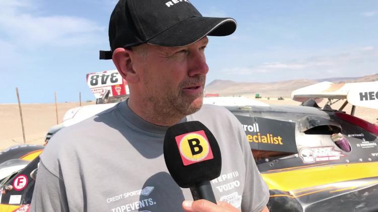 Ebert Dollevoet geeft zijn Dakar-auto weg en wordt teambaas