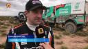 Ton van Genugten voor zijn winnende race in de Dakar Rally