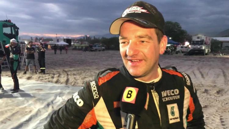 Ton van Genugten wint weer in Dakar Rally: 'Het was zwaar'