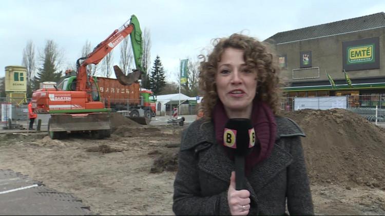 'Geen koker, maar wel een oude muur gevonden', verslaggever Hannelore Struijs over de zoektocht in Sint-Michielsgestel
