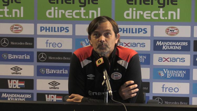 Phillip Cocu blikt vooruit op Sparta-PSV