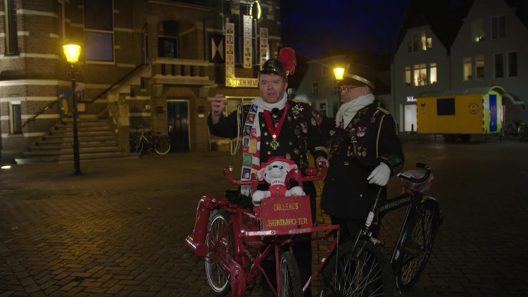 Ad en Gé zijn een begrip in Oisterwijk.
