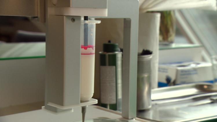 Maison de Boer werkt met de 3D-printer Focus