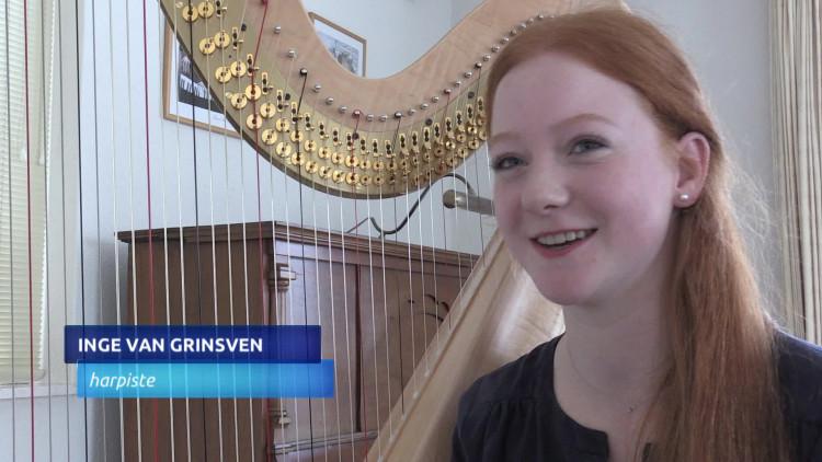 Inge van Grinsven uit Nuenen doet mee aan de regionale voorrondes van het Prinses Christina Concours