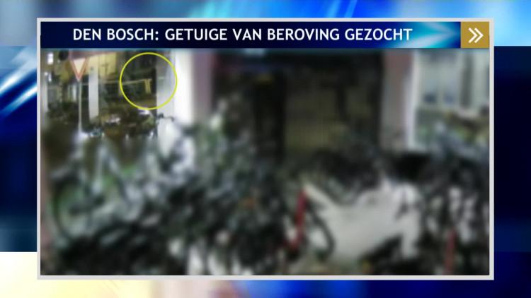 Belangrijke getuige gezocht van beroving in Den Bosch