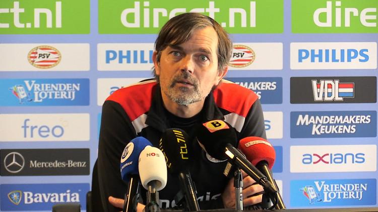 Phillip Cocu kan met nagenoeg fitte selectie toewerken naar PSV-NAC
