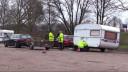 Politie controleert caravans Paaspop bezoekers