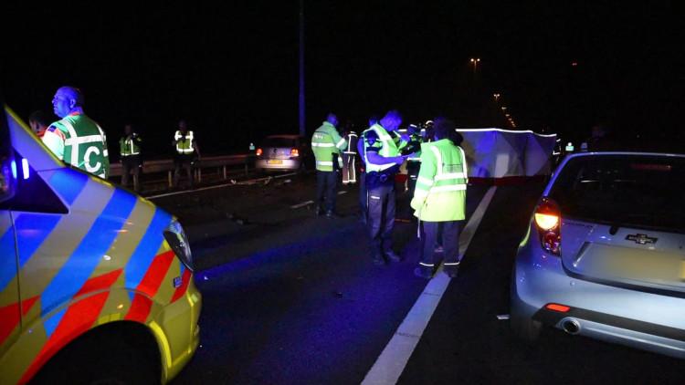 Dode en gewonde bij ongeluk op A58