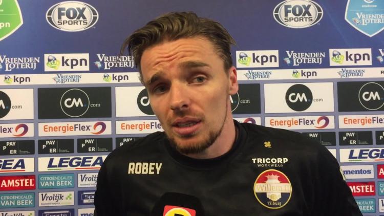Matchwinner Ben Rienstra na NAC Breda - Willem II